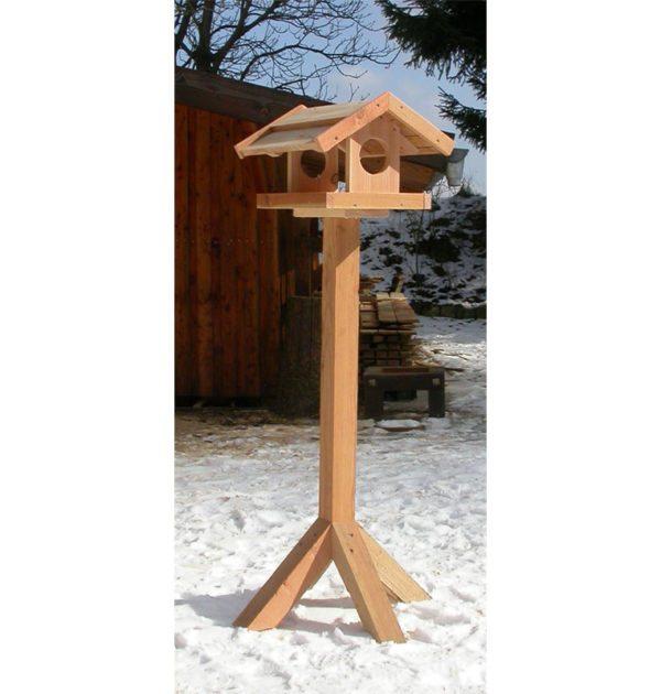 fuglehus med klinketag