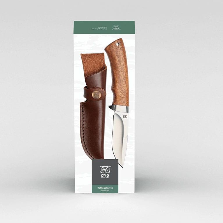 Vildmarks kniv i gaveæske