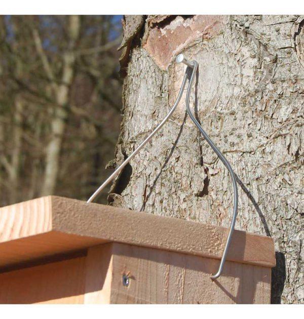 Ophængningsbøjle med fuglekasse