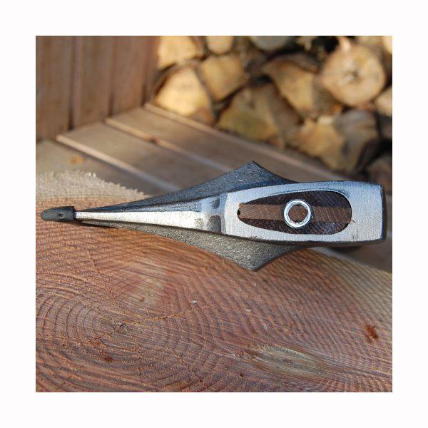 Flækøkse med facon skæfte - solidt monteret med ringkile