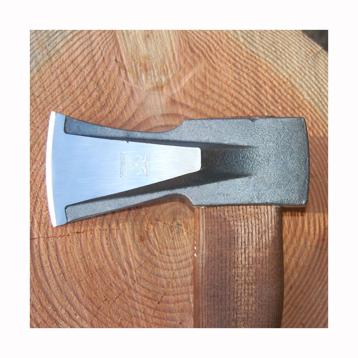 Flækøkse med special udformet kløvehoved