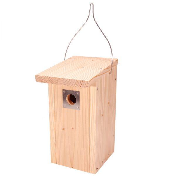 Vendehals kasse fremstillet af FSC® certificeret douglasgran