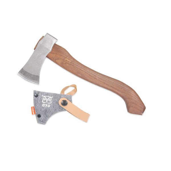 Vikingeøkse smedet kopi efter originalfund
