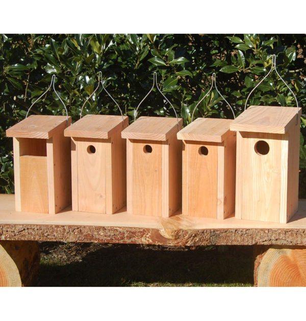 Redekasser til alle havens fugle
