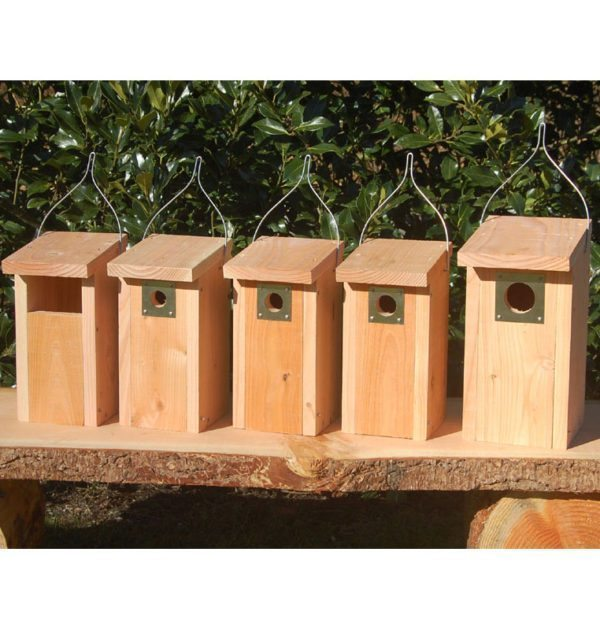 Redekasser til havens fugle