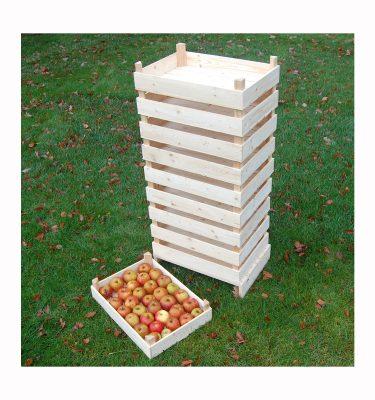 Æblekasser til mange æbler