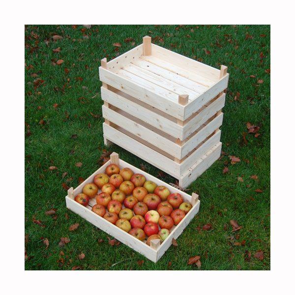 Æblekasser fremstillet i Danmark