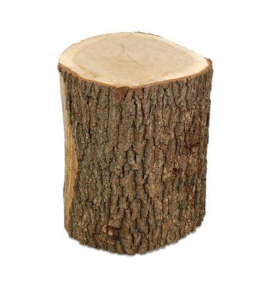 Huggeblok fremstillet af egetræ