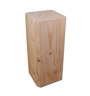 Unik firkantet sømblok 80 cm høj