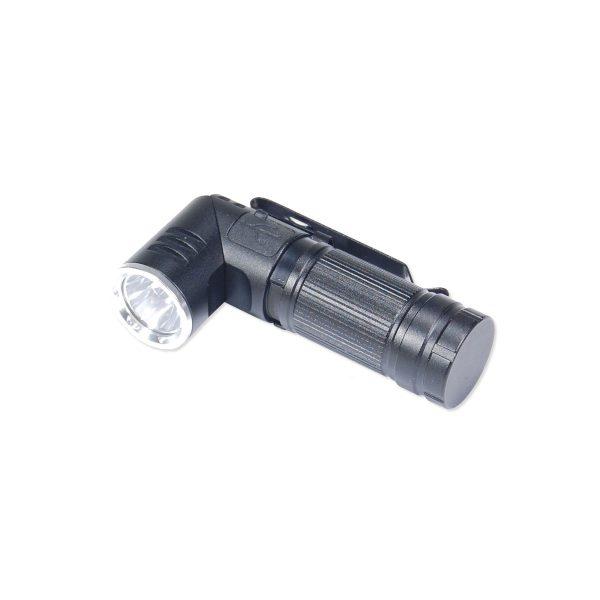 LED lommelygte med drejeligt hoved 180°