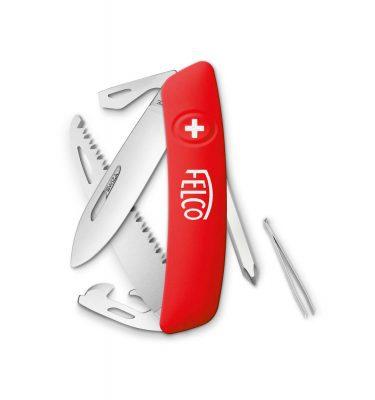 Felco 506 foldekniv med sav, skruetrækker og masser andre funktioner