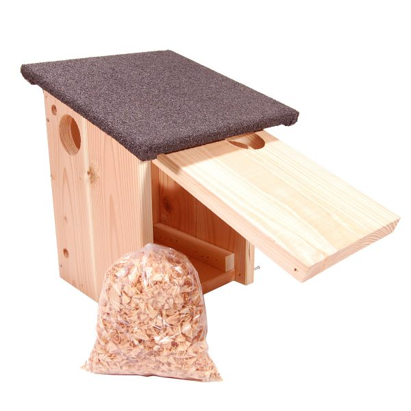 Egern redekasse der kan åbnes og tilses